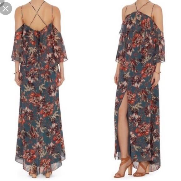 INTERMIX Dresses & Skirts - Intermix Silk Floral Maxi Dress